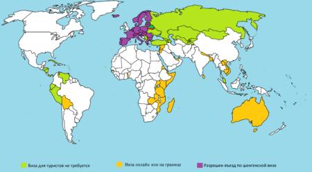 виза в Белоруссию для иностранцев