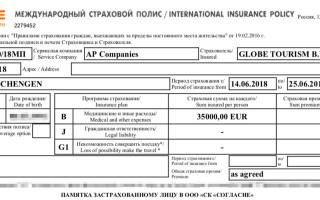 Спонсорское письмо на визу в Словакию