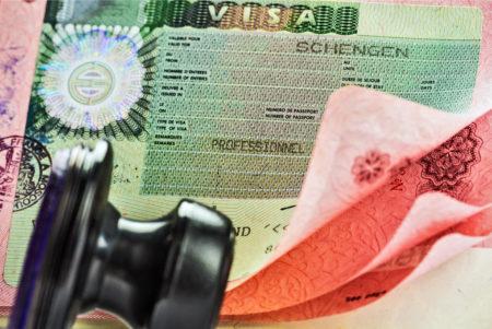 Оформление шенгенской визы в Москве